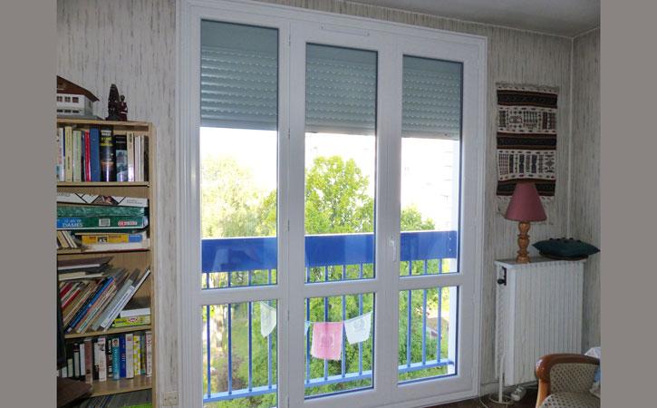 porte fenetre pvc 3 vantaux. Black Bedroom Furniture Sets. Home Design Ideas